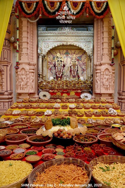 Goverdhan Pooja and annakut darshan