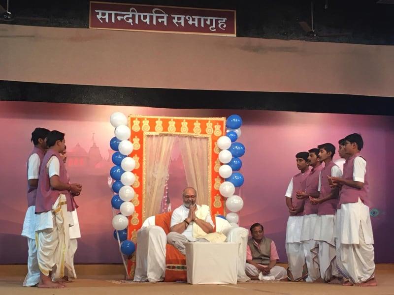 Shri Vasant Shastriji and birthday celebration