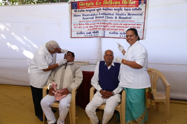 Medical Camp at Patotsav 2020